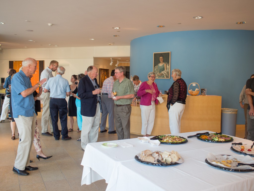 Dubuque Museum of Art Reception